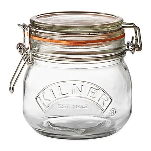 Kilner 17 oz. Round Clip Top Canning Jar