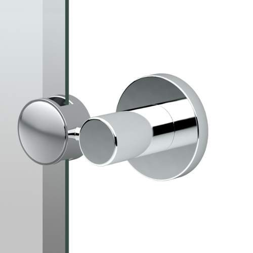 Gatco 4689SM Channel 19.5 Inch x 24 Inch Rectangular Beveled Frameless Mirror - N/A