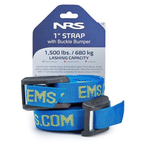 NRS 1 in. HD Buckle Bumper Straps, 12 FT. Pair