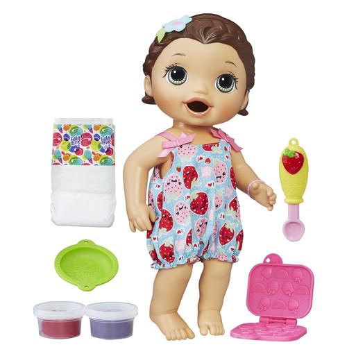 Baby Alive Super Snacks Snackin' Lily - Brunette