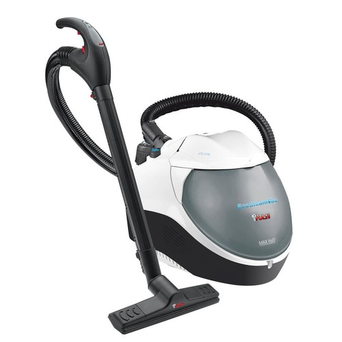 Polti EcoSteamVac Dual Corded Water Filter Steam and Vacuum Cleaner with Accessories