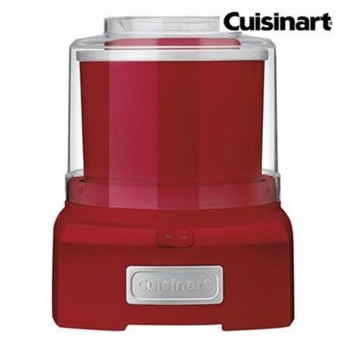 Cuisinart ICE-21R Frozen Yogurt, Ice Cream & Sorbet Maker, Red [Red]