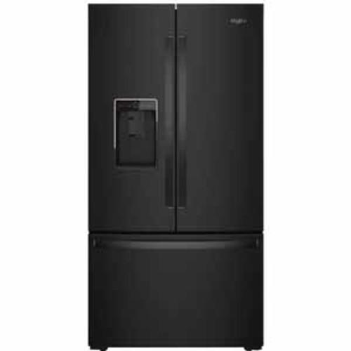 Whirlpool 36-inch Wide Counter Depth French Door Refrigerator - Black