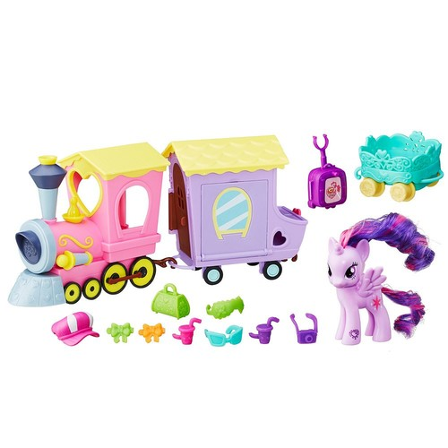 My Little Pony Friendship is Magic Explore Equestria Friendship Express Train Playset