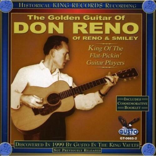 The Golden Guitar of Don Reno [CD]