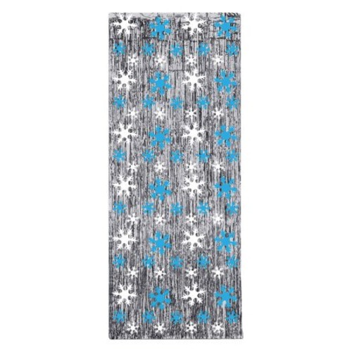 Snowflake Gleaming Curtain
