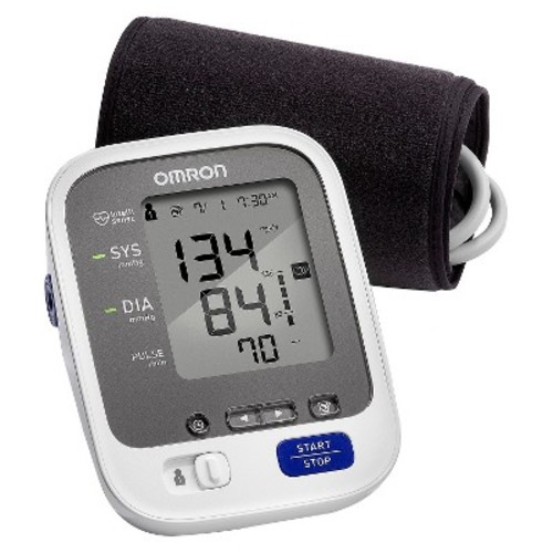 Omron 7 Series Upper Arm Blood Pressure Monitor with Cuff that fits Standard and Large Arms (BP760N)