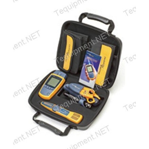 Fluke Networks MS2-TTK MicroScanner2 Network Cable Tester Kit with Punch Down Tool and Tone Generator and Probe [MS2-TTK w/Punch Down & Tone and Probe]