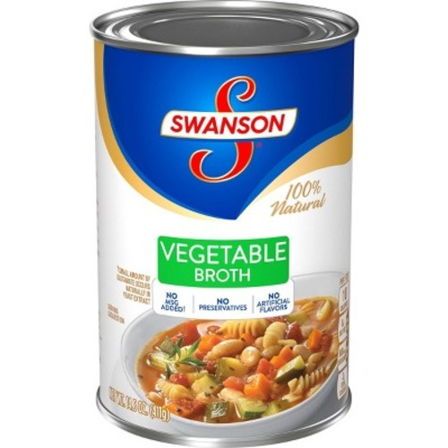 Swanson 100% Natural Vegetable Broth 14.5 oz