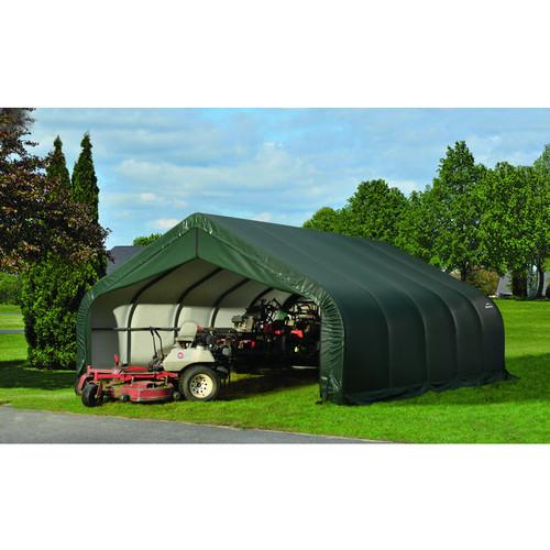 ShelterLogic Peak Style Garage/Storage Shelter  20ft.L x 18ft.W x 10ft.H