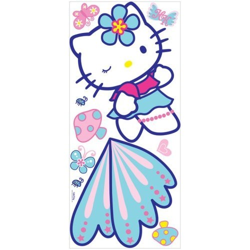RoomMates RMK1083GM Hello Kitty Peel & Stick Giant Wall Decal