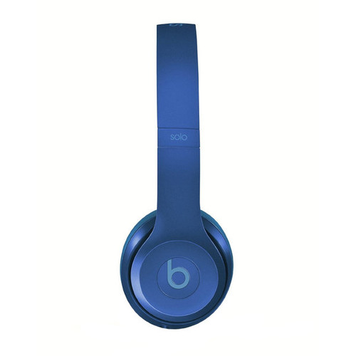 Beats by Dre Solo 2 Blue Saphire Refurbished Wired On-ear Headphones