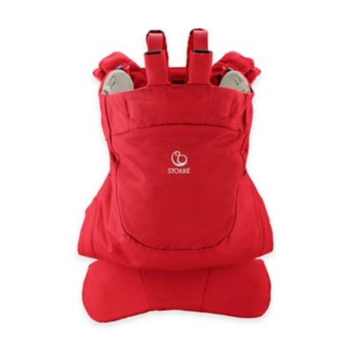 Stokke MyCarrier Front Baby Carrier in Red