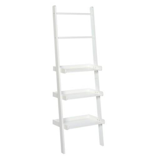 Ladder Shelf White - RiverRidge