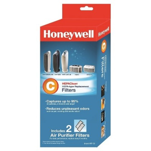 Honeywell HEPAClean Air Purifier Replacement Filter 2 Pack, HRF-C2/Filter (C)