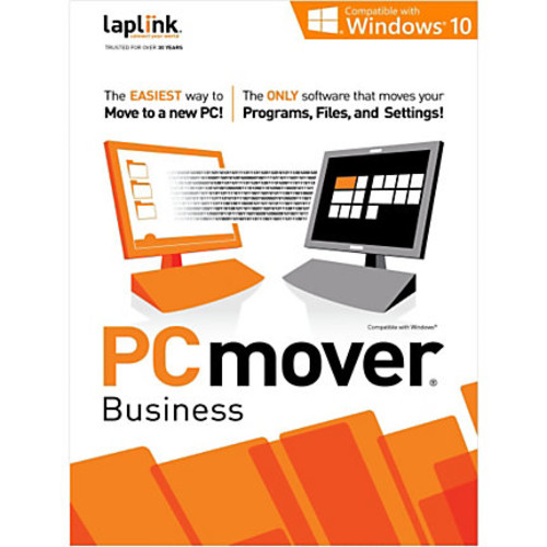 Laplink PCmover Business 10 - 25 Use, Download Version