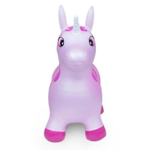 Waddle Unicorn Inflatable Ride-On Toy