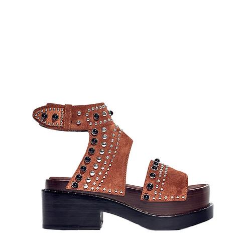 Brown 'Nashville' Platform Sandal