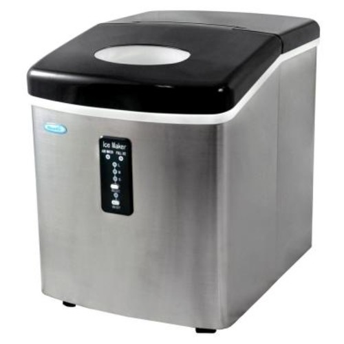 Air 28 lb. Freestanding Ice Maker in Stainless Steel