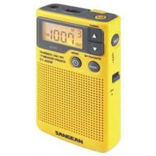 Sangean DT-400W AM/FM Digital Weather Alert Pocket Radio [One Size]