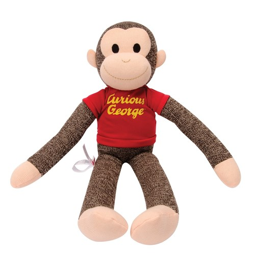Schylling Curious George Sock Monkey