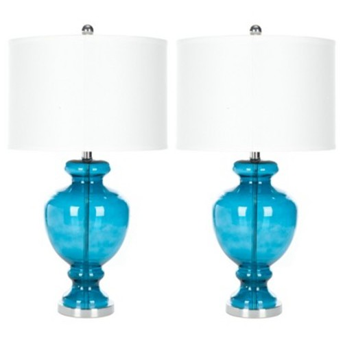 Clear Glass Table Lamp (Set of 2) - Safavieh
