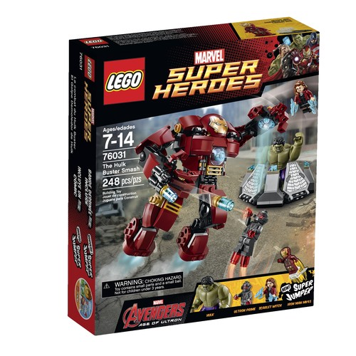 The Hulk Buster Smash Set #76031