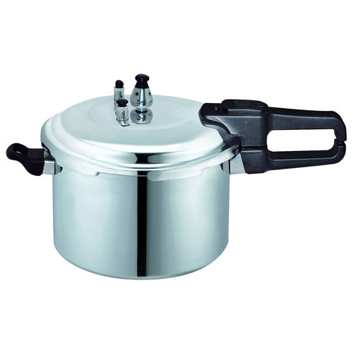 Brentwood - 23-Cup Pressure Cooker - Silver