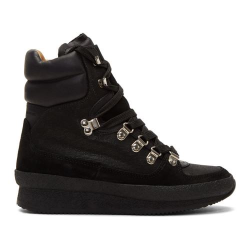 Black Brendty Hiking Boots