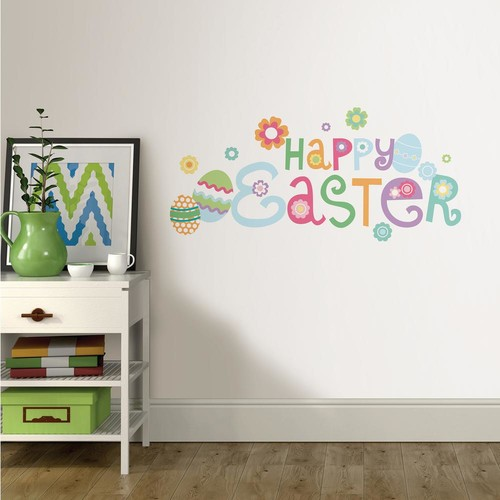 WallPOPs Happy Easter Wall Quote