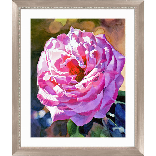 Temple Rose Framed Painting Print