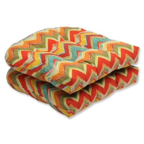Pillow Perfect Tamarama Outdoor Dining Chair Cushion (Set of 2)