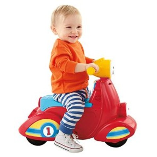 Fisher-Price Laugh & Learn Smart Stages Scooter [Standard Packaging]
