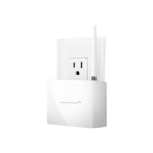 Amped Wireless High Power 600mW Compact Wi-Fi Range Extender (REC10)
