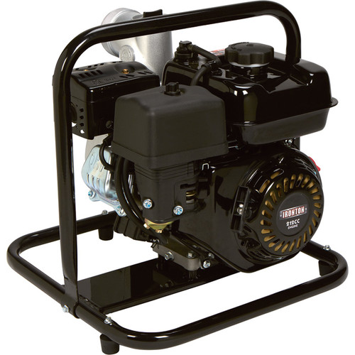 Ironton Self-Priming Clear Water Pump  14,160 GPH, 6 HP, 3in. Ports,