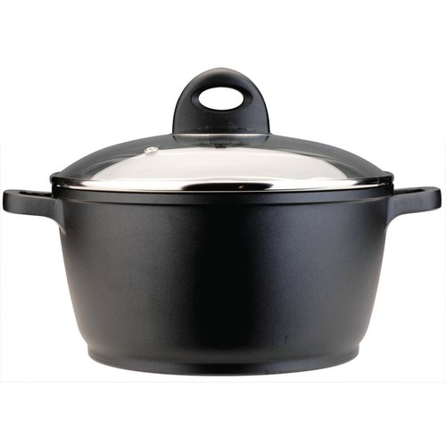 BergHOFF CooknCo 6.3 Qt. Cast Aluminum Stock Pot with Lid