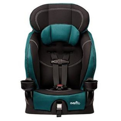 Evenflo Chase LX BOOSTER SEAT, Harnessed Adjustable BABY CAR SEAT, Jubilee