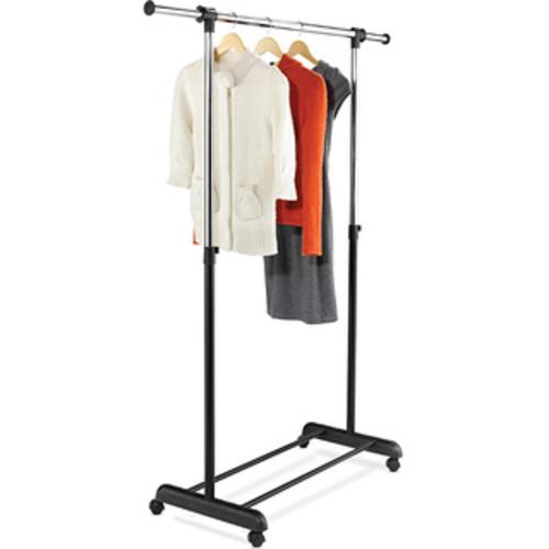 Honey-Can-Do GAR-03537 White Modern Adjustable Garment Rack