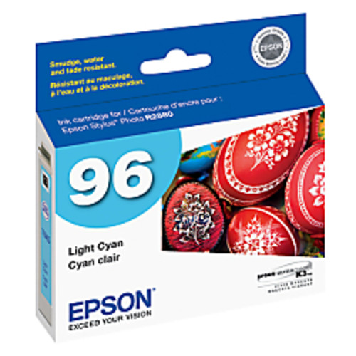 Epson 96, (T096520) UltraChrome K3 Light Cyan Ink Cartridge