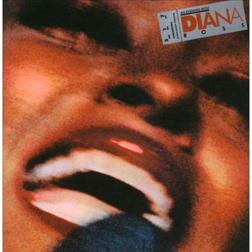 Diana Ross: An Evening with Diana Ross Papersleeve