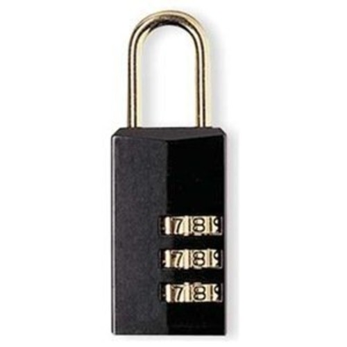 Master Lock Padlock, Set Your Own Combination Lock Luggage Lock, 13/16 in. Wide, 646T (Pack of 2)