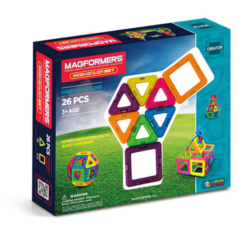 Magformers Neon 26 PC Set