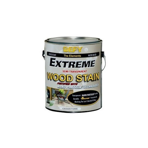 Defy Extreme Wood Stain Natural Pine 1-gallon [Natural Pine, 1 Gallon]