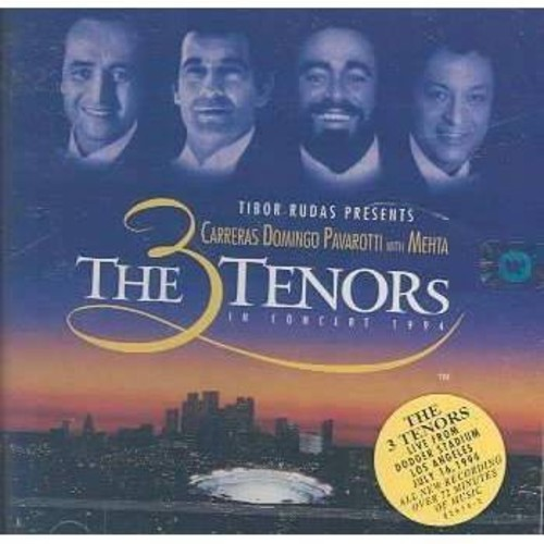 Jose carreras - Three tenors in concert 1994 (CD)