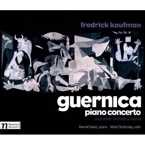 Guernica Piano Concerto & Other Orchestral Works - CD