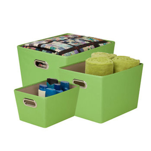 Honey-Can-Do Honey-Can-Do Large Nesting Tote - Green