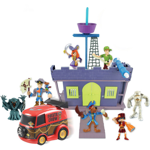 Scooby Pirate Fort and Figure, 7-Pack