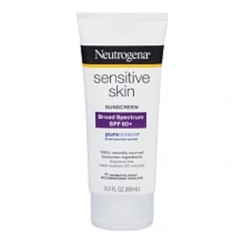 Neutrogena Sunscreen Lotion, Sensitive Skin, SPF 60