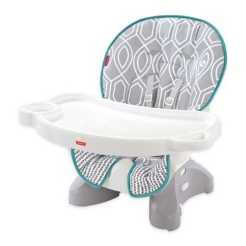 Fisher-Price SpaceSaver High Chair in Grey