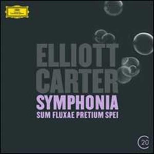 Elliott Carter: Symphonia Sum fluxae pretium spei ; Clarinet Concerto By Michael Collins (Audio CD)